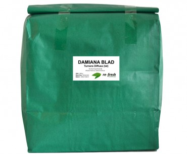 Damiana-te 100% ört, Re-fresh Superfood. 1 kg