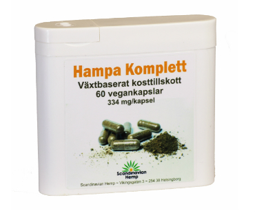 Hampa Komplett, Scandinavian Hemp. 60 kap