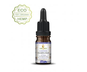 Hampaolja Alkemisk 5,5% cannabinoider, Nirvara. 10 ml