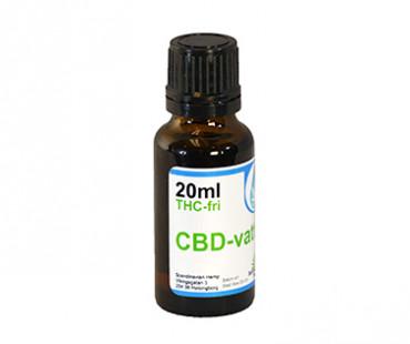 CBD olja 3%, vattenlöslig och THC-fri, Scandinavian Hemp. 600 mg - 20 ml, Naturell