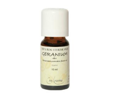 Eterisk Olja Geranium EKO, Crearome 5 ml