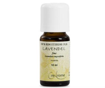 Eterisk Olja Lavendel Fine EKO, Crearome. 10 ml