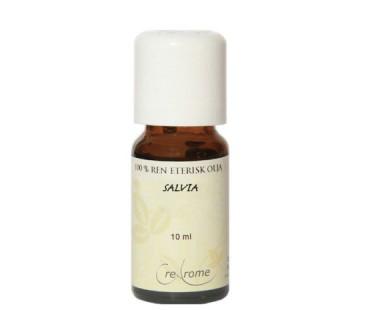 Eterisk Olja Salvia EKO, Crearome. 5 ml
