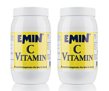 C-vitamin pulver, Emin. 500 g, 2-PACK!
