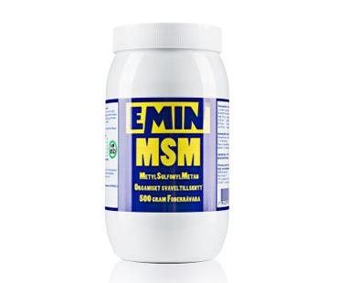 MSM pulver, Emin. 500 g