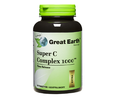 Super C Complex 1000, Great Earth. 1000 mg - 90 tab