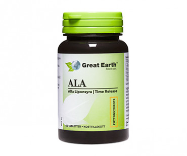 Alpha Lipoic Acid - Liponsyra, Great Earth. 300 mg - 60 tab