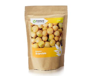 Ärtprotein EKO, Great Earth. 500 g