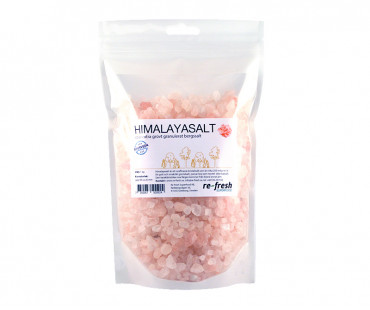 Himalayasalt - extra grovt granulat, Re-fresh Superfood. 1 kg