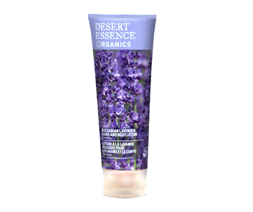 Desert Essence Hand & bodylotion lavendel EKO - 237 ml