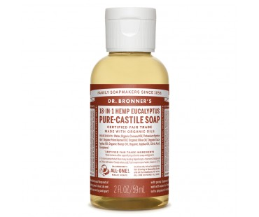 Dr. Bronner's Magic Soap Eucalyptus EKO. 60 ml