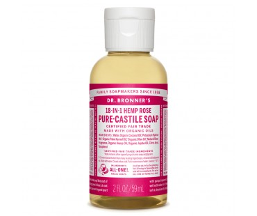 Dr. Bronner's Magic Soap Rose EKO. 59 ml