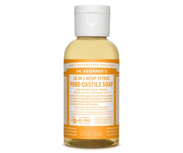 Dr. Bronner's Magic Soap Citrus Orange EKO. 59 ml