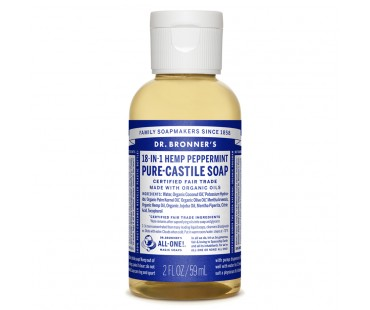 Dr. Bronner´s Magic Soap Peppermint EKO. 59 ml