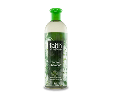 Faith In Nature Schampo 400 ml - Teatree