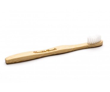 Tandborste BPA-fri, Humble Brush. Vit - Barn