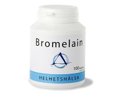 Bromelain, Helhetshälsa. 100 kap