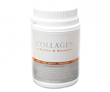 Collagen Active and Beauty. 400 g. (ej marint)