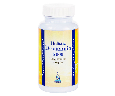D3-vitamin, Holistic. 5000 IE - 90 kap