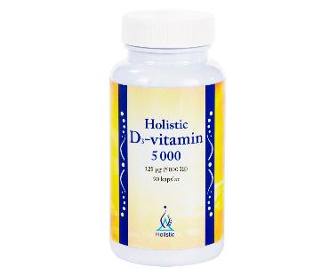 D3-vitamin, Holistic. 5000 IE - 90 kap