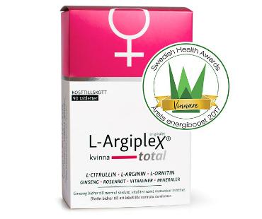L-Argiplex Total Kvinna. 90 tab