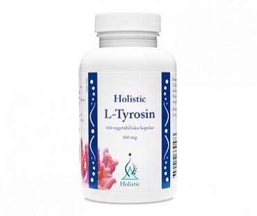 L-Tyrosine, Holistic 500 mg - 100 kap