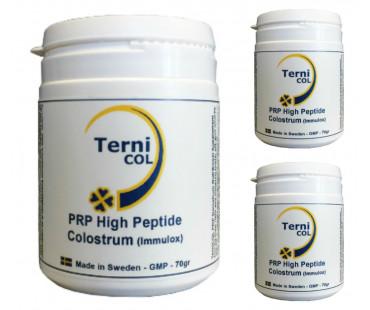 Colostrum/ råmjölkpulver PRP High Peptide, Ternicol. 70 g