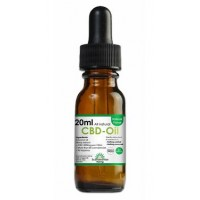 CBD olja 400 mg 20 ml - Naturell