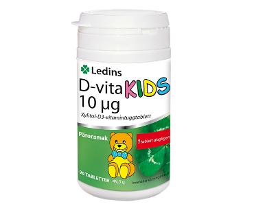 D-Vita Kids, Ledins. 10 µg - 90 tab