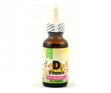 D3-vitamin droppar, Soma Nordic. 30 ml
