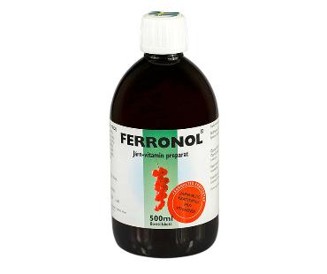 Ferronol, Bio Medica. 500 ml