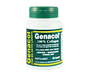 Genacol Collagen i kapsel. 400 mg - 90 kap