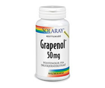 Grapenol, Solaray. 50 mg - 90 kaps