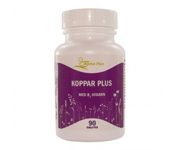 Koppar Plus, Alpha Plus. 2000 mcg - 90 tab.