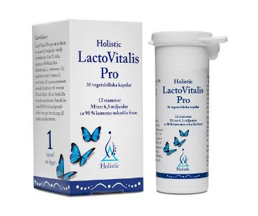 LactoVitalis Pro, Holistic. 30 kap