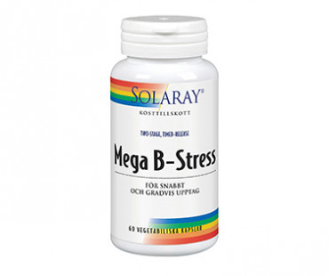 Mega B-Stress, Solaray. 60 kap