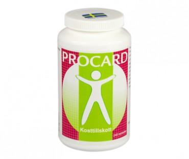 Procard, multivitamin och mineral. 240 tab