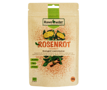 Rosenrot EKO, Rawpowder. 100 g