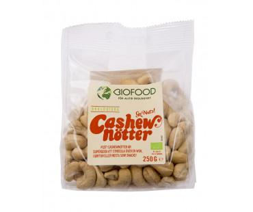 Cashewnötter hela EKO, Biofood. 250 g