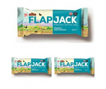 Flapjack Cashew cocos. 80 g, 3-PACK