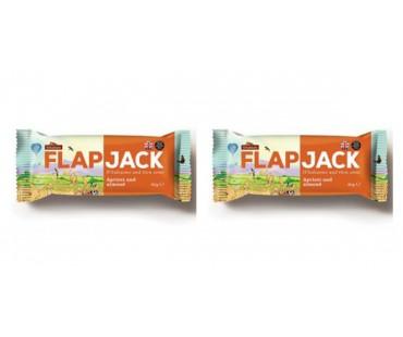 Flapjack Aprikos Mandel. 80 g, 2-PACK