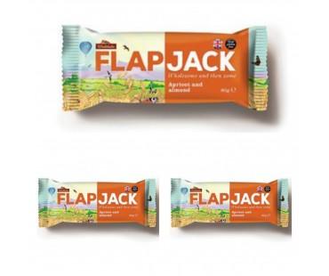Flapjack Aprikos Mandel. 80 g, 3-PACK