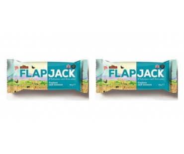 Flapjack Cashew Cocos. 80 g, 2-PACK