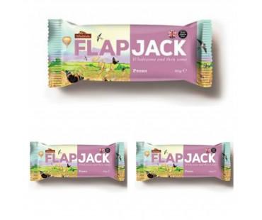 Flapjack Pecan. 80 g, 3-PACK