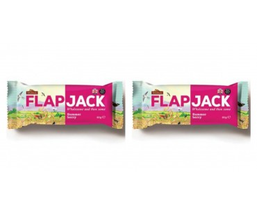 Flapjack Sommarbär. 80 g, 2-PACK