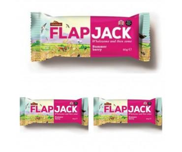 Flapjack Sommarbär. 80 g, 3-PACK