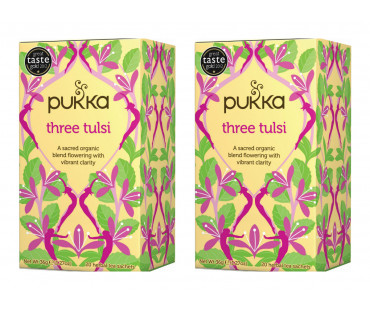 Pukka Three Tulsi Te EKO. 20 påsar, 2-PACK