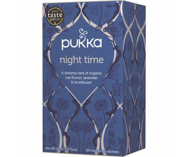 Pukka Night Time Te EKO. 20 påsar