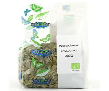 Pumpakärnor EKO, Biofood. 300 g