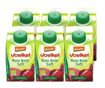 Rödbetsjuice, Voelkel. 500 ml, 6-PACK